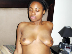 Nude light-skinned African,..